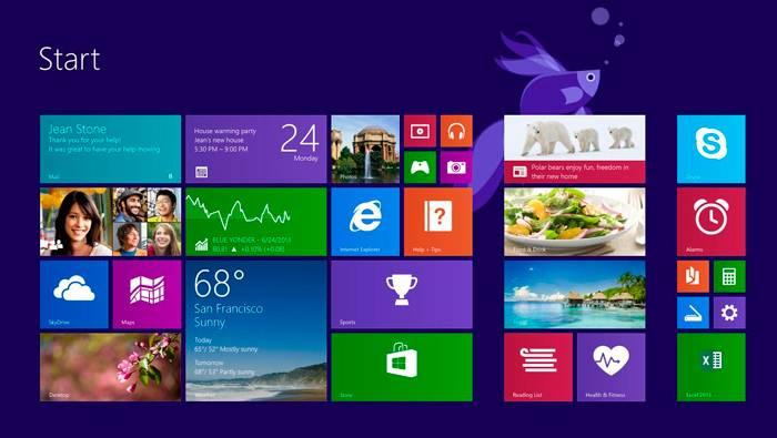 exemple de mauvais design windows